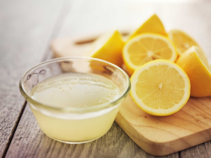 лимон для выхода из запоя