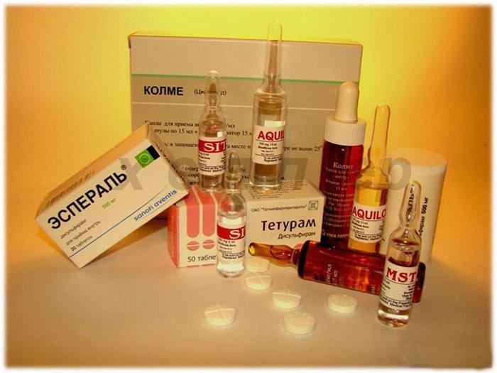 антиалкогольные препараты