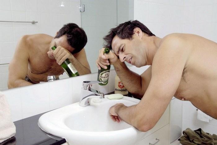 после пива болит голова