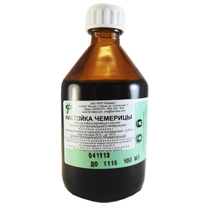 чемеричная вода применение от алкоголизма