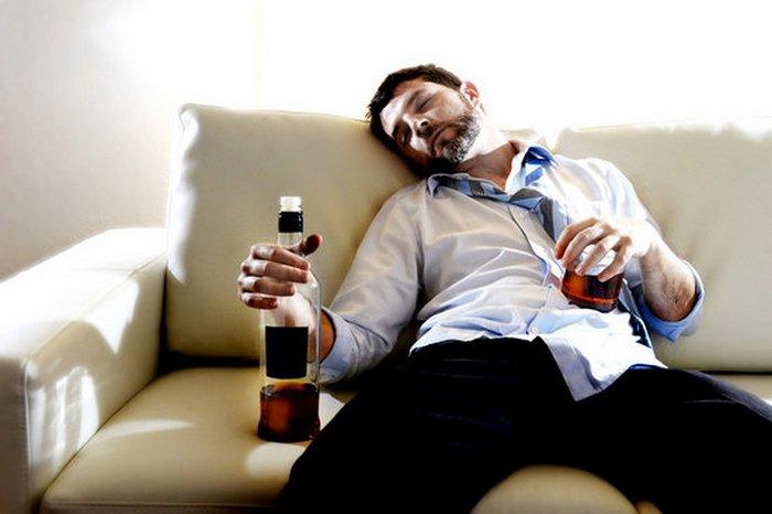 регулярное алкогольное опьянение мужа