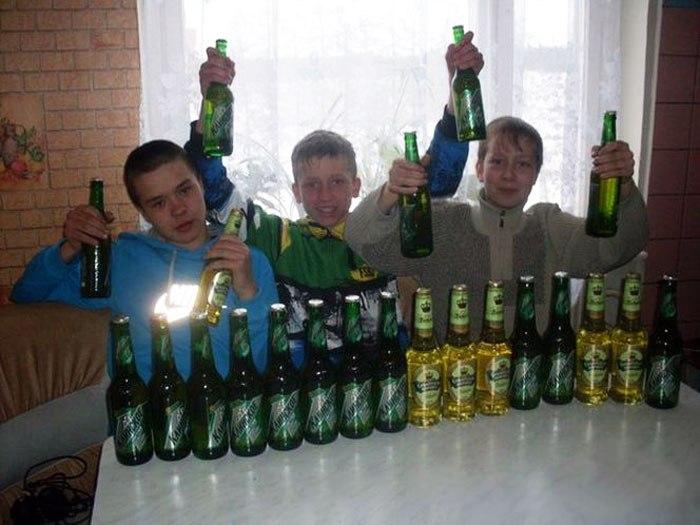 алкогольная зависимость в семьях с детьми