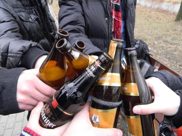 чрезмерное употребление пива вредит вашему здоровью