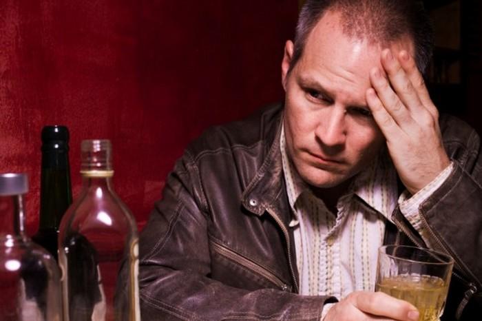 депрессия алкоголика