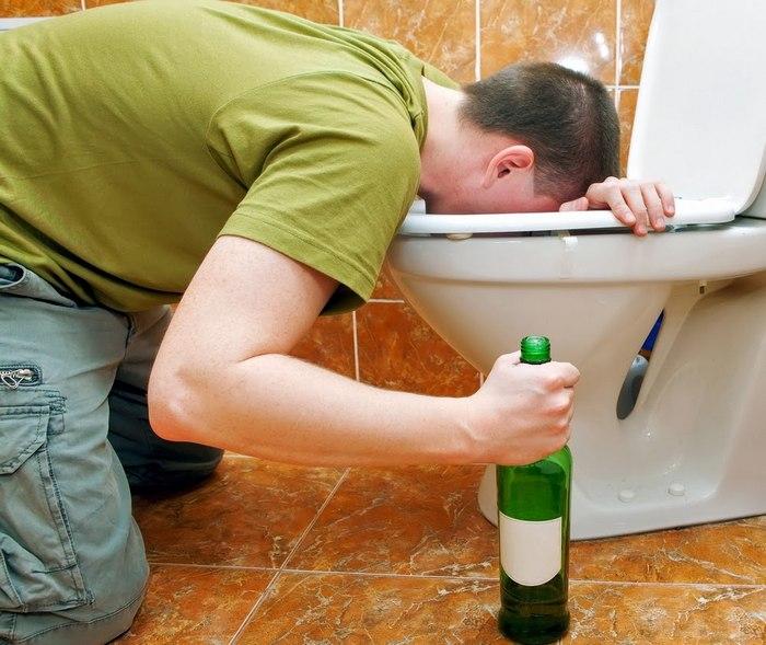 рвотный рефлекс на алкоголь
