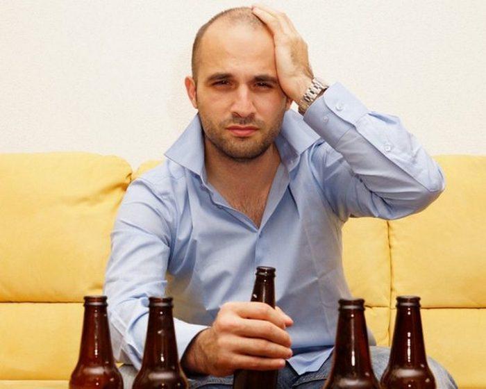 внешние признаки алкоголика