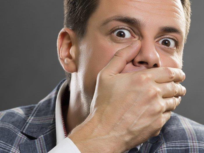 Почему пахнет перегаром если не пил{q}