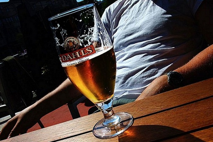 алкоголь как обезболивающее