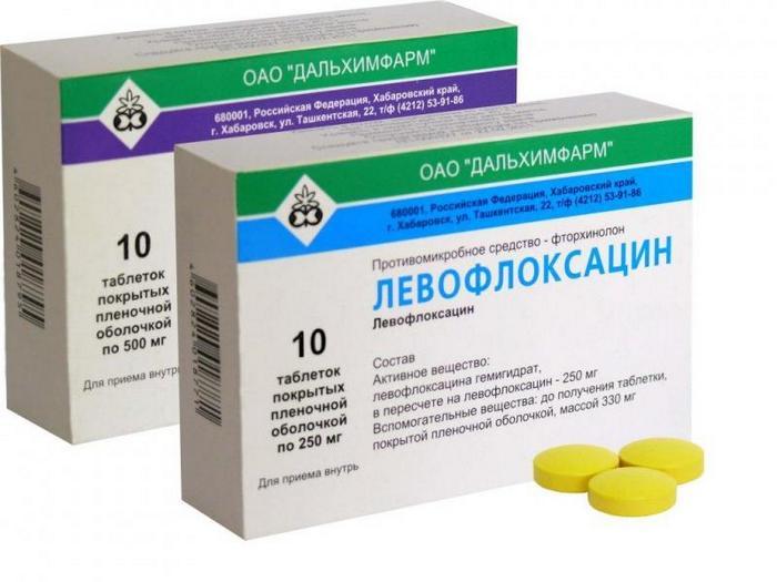 Левофлоксацин медикаменты инструкция