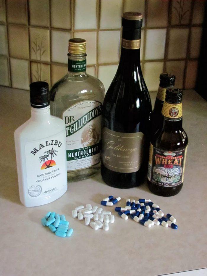 кагоцел и алкоголь последствия