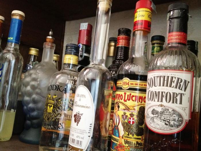 Эссенциале и алкоголь одновременно