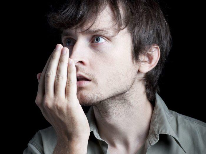 как понять пахнет ли от тебя перегаром