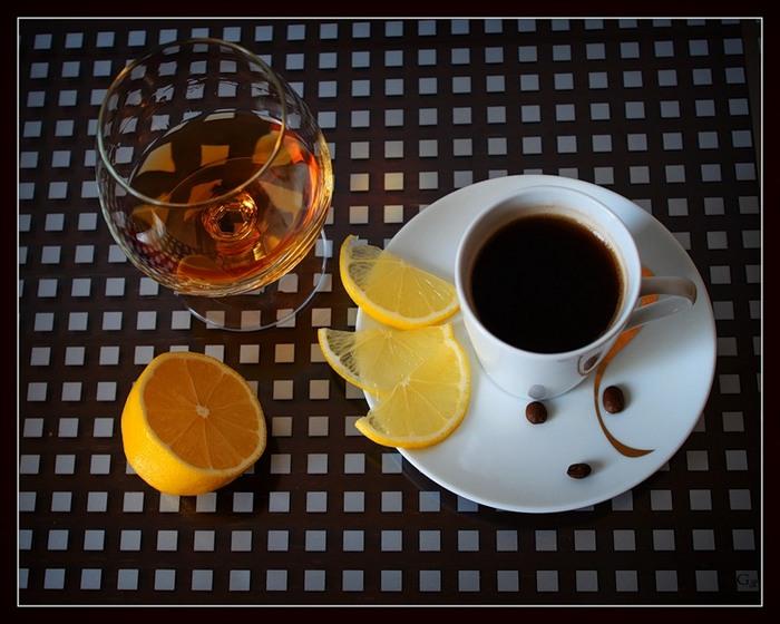 кофеин и алкоголь