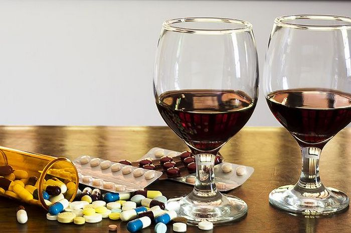 капотен и алкоголь