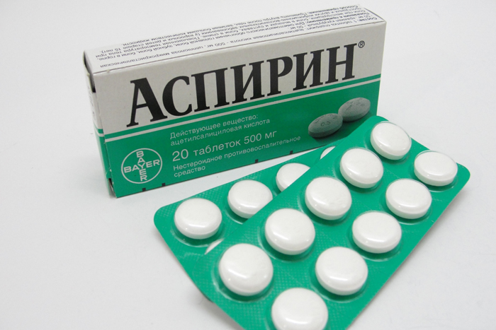 аспирин при похмелье