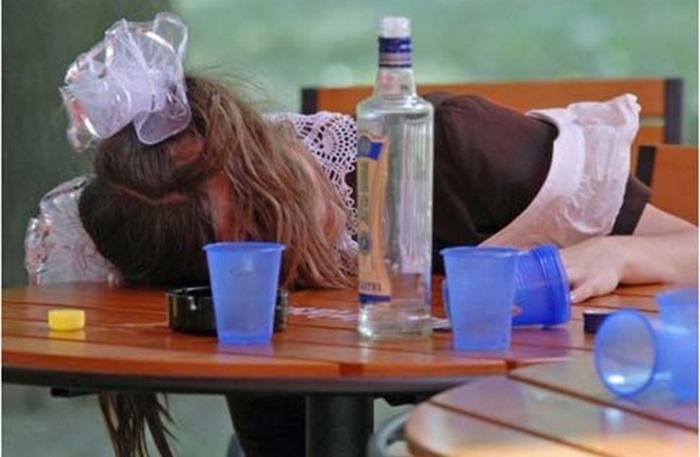 причины алкоголизма у подростков