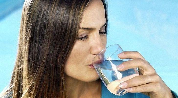пить больше воды