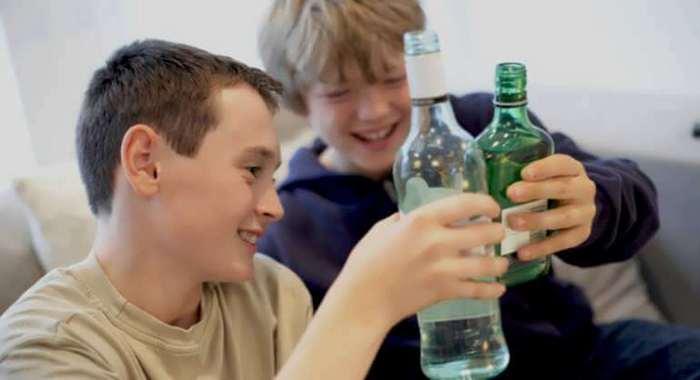 как влияет алкоголь на организм подростка