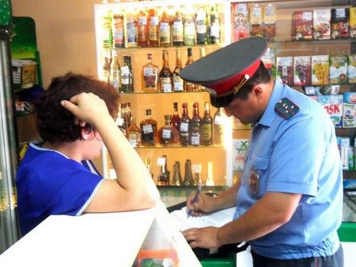 наказание за продажу спиртного