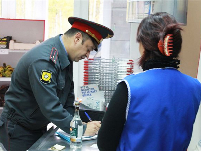 штраф за продажу алкоголя