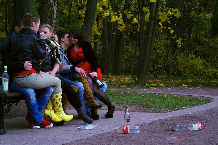 подборка фото с молодежных пьянок