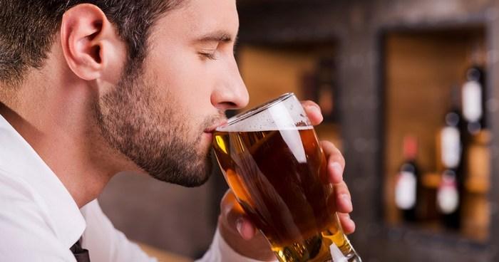 пиво выветривается долго