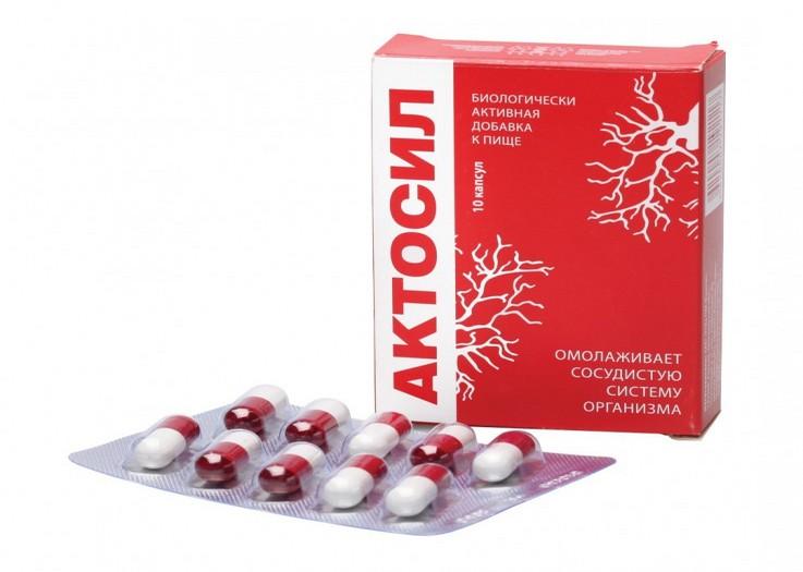 препарат Актосил против алкоголя