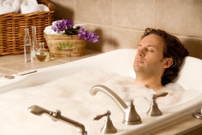 ванна с похмелья
