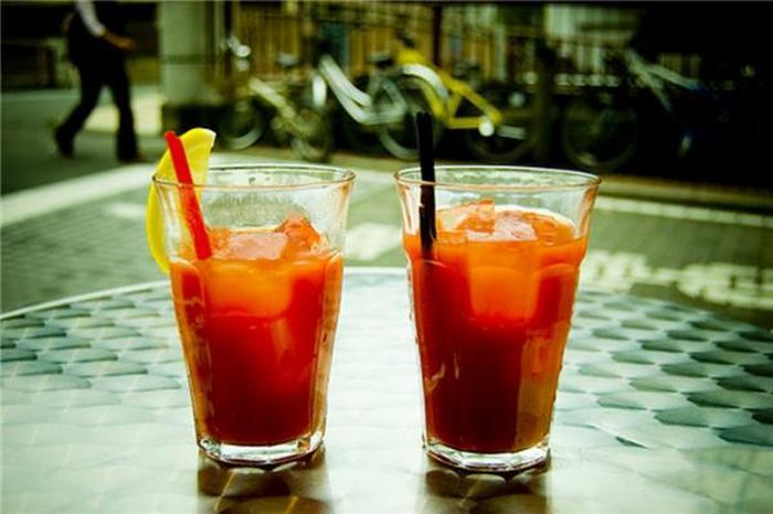 томатный сок и алкоголь