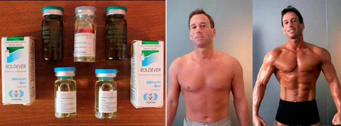стероиды насыщают спортсмена основным мужским гормоном