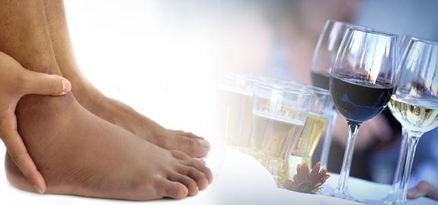 болят ноги от алкоголя