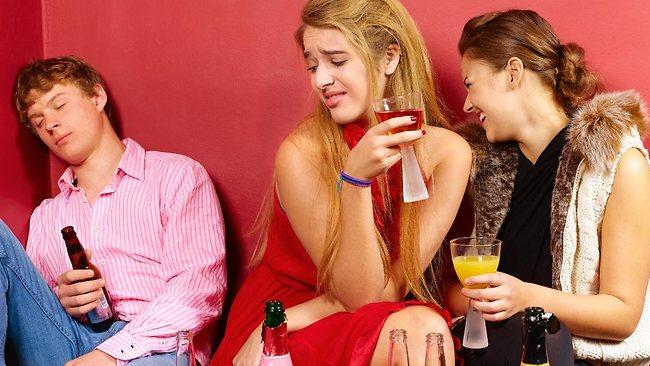негативное влияние алкоголя на молодых людей