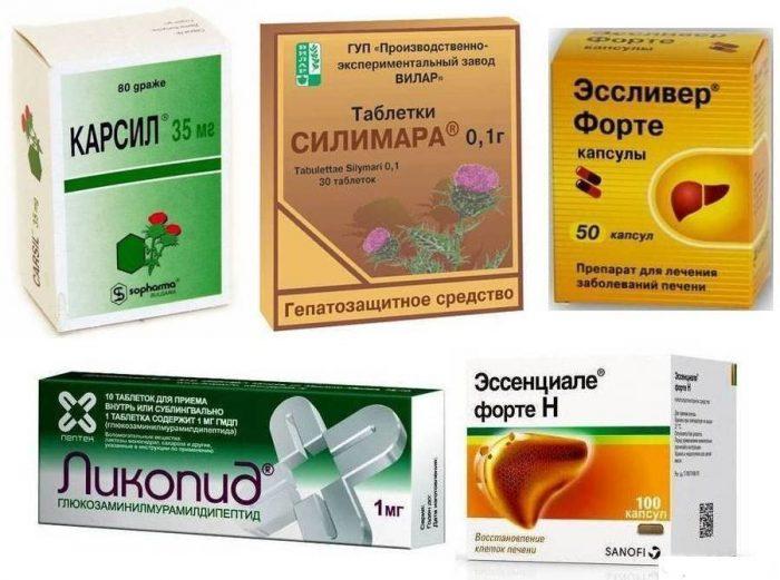 препараты для восстановления печени