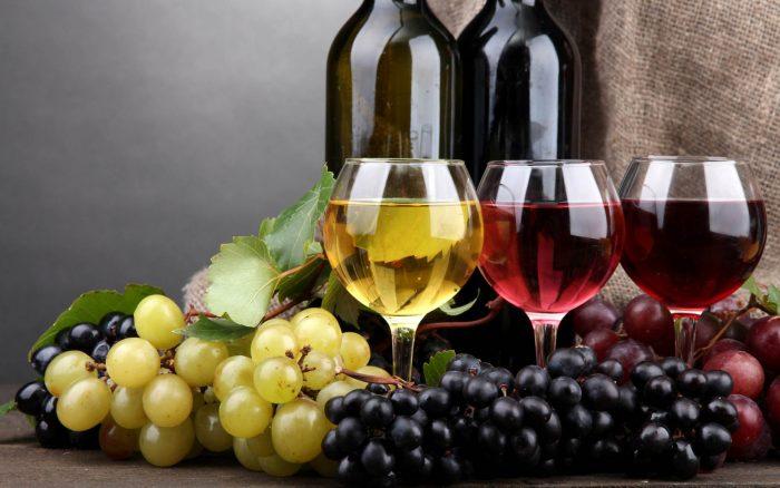 виноградные вина между собой отличаются
