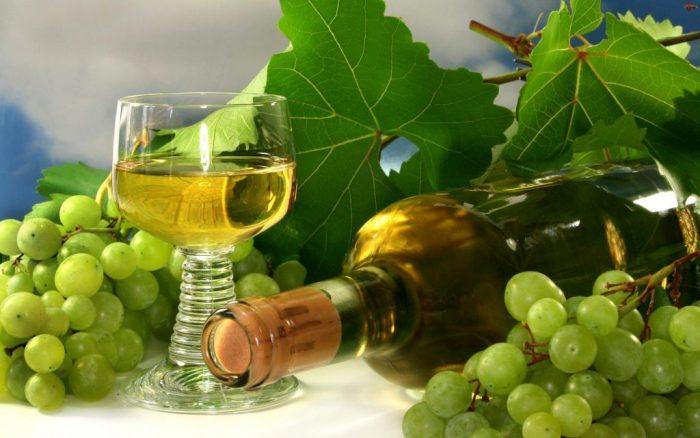 сухое вино из винограда