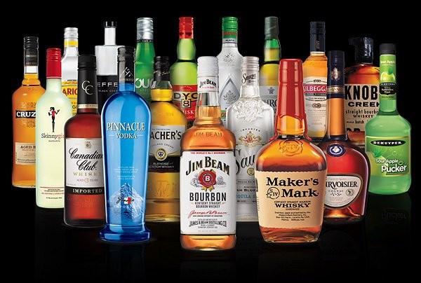 виды алкоголя