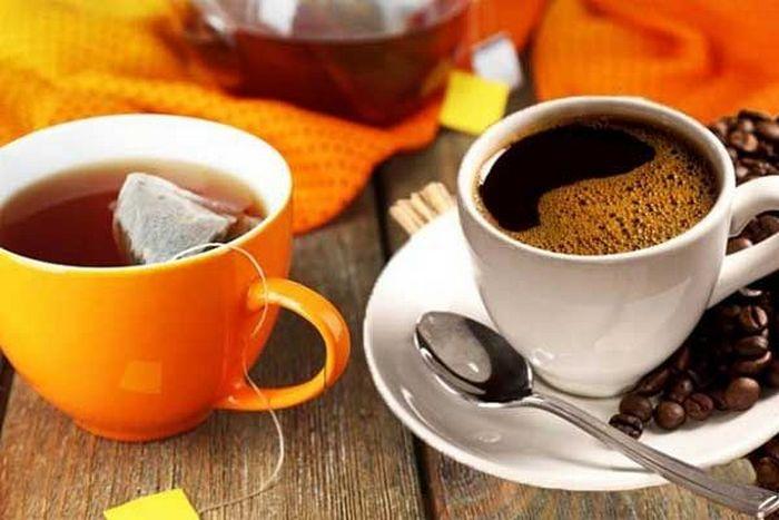 правила употребления чая и кофе
