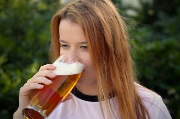 негативное влияние пива на женский организм