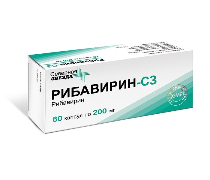 противовирусные препараты при гипатите С
