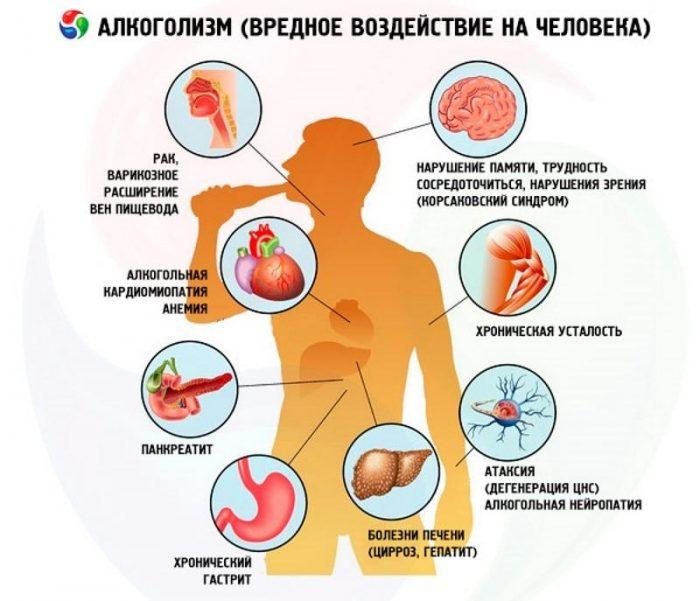 Алкоголизма разрушение организма у пьющего человека практически не остается здоровых лечение алкоголизма в краснодаре воробьева
