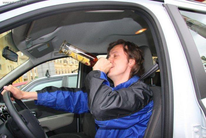ДТП по вине пьяных водителей