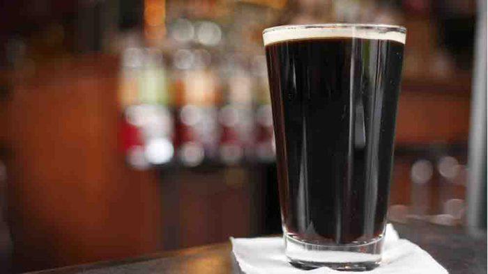живое темное пиво