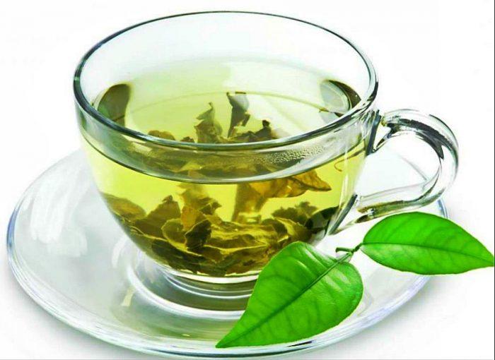 зеленый чай помогает вывести из организма токсины