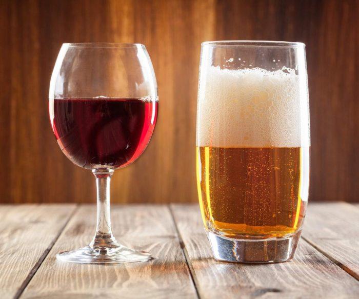 смешать пиво и вино
