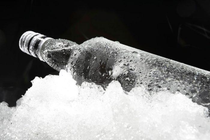 заморозка водки для ее очистки