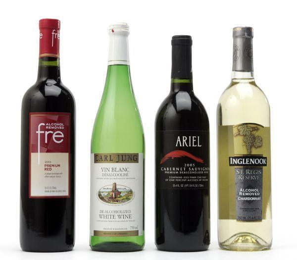 вина безалкогольные