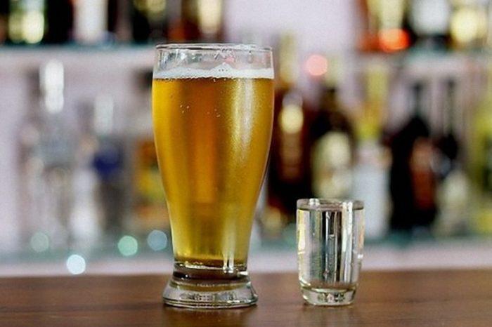 водка менее опасна для организма, чем пиво