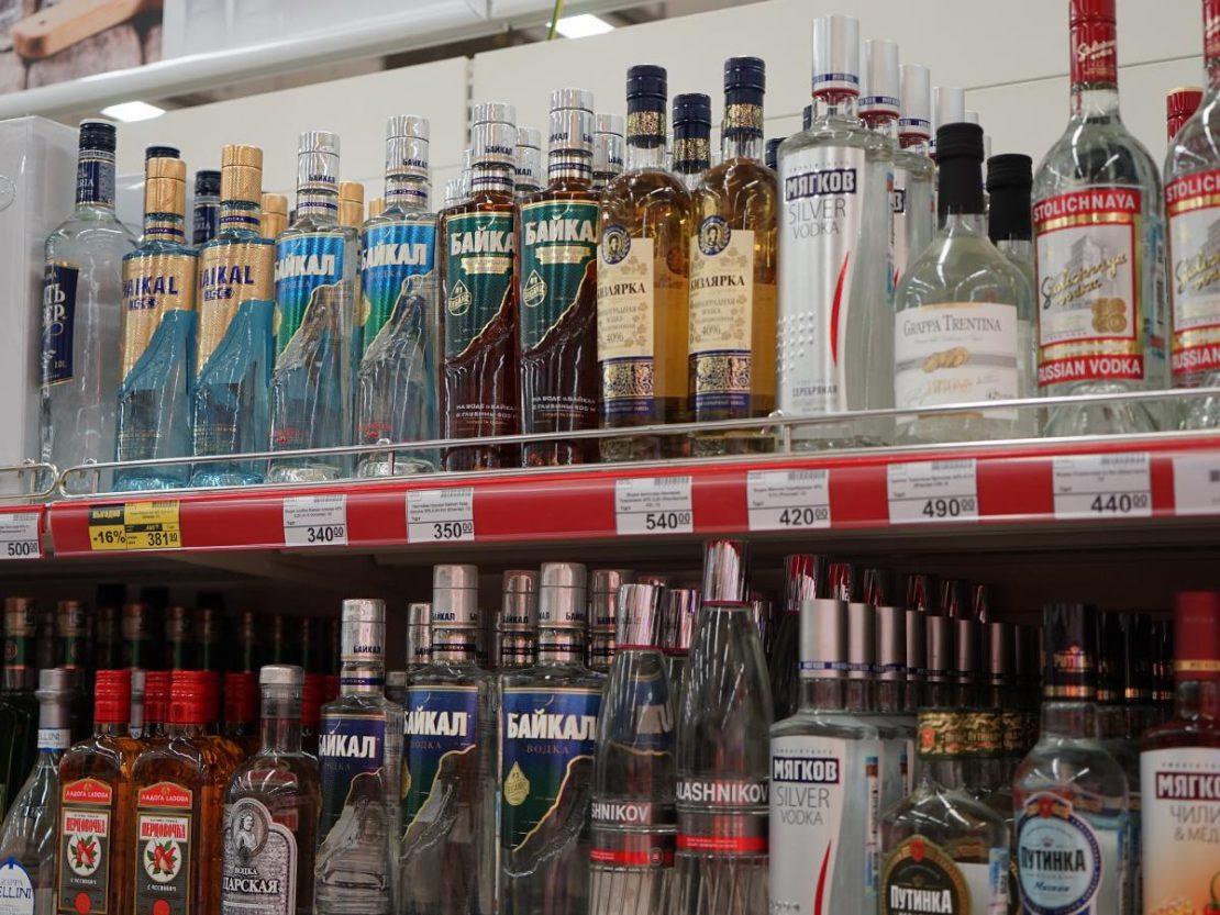 самая плохая водка в россии