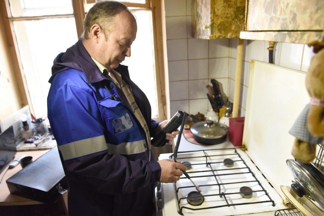 проверка газовых плит