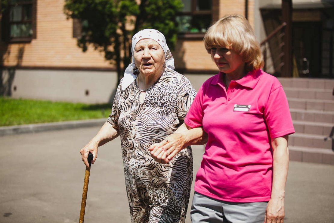 оформления ухода за пенсионером